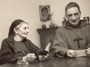 Père Voillaume et Petite Soeur Madeleine