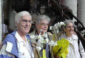 Jubilé des 50 ans des premières petites soeurs de l'Evangile