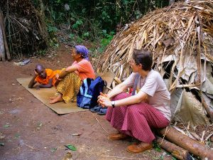 Au milieu des Pygmées Baka (Cameroun)