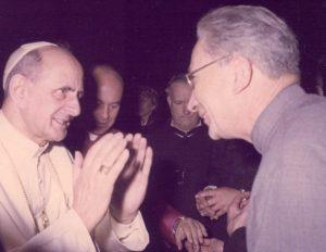 René Voillaume avec Paul VI