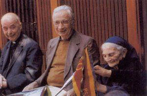 Avec Petite Soeur Madeleine et Mgr de Provenchères