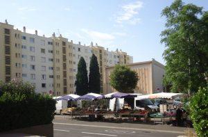 Le quartier Saint Martin de Montpellier